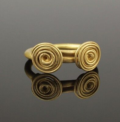 ANCIENT CELTIC GOLD RING - CIRCA 50BC Excellent Condition