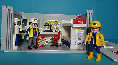 Playmobil Baustelle~Baucontainer/Construction Crew's Office (3260) & Anleitung