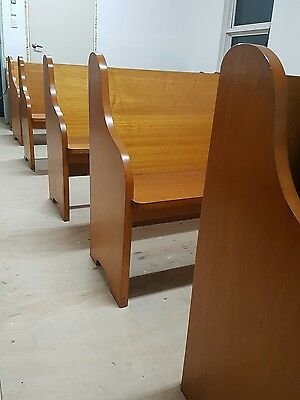 church pews x 12. $400each negotiable
