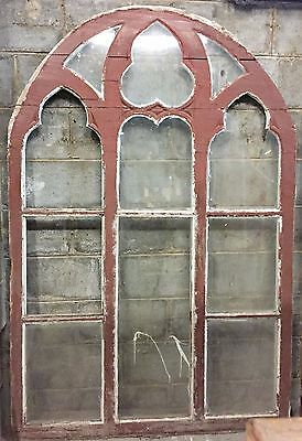 An Antique French Large Church Window - j035