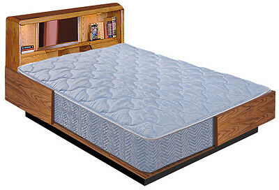 Cal King  Hardside Smooth Top Zippered Waterbed Mattress Cover -  Free Ship