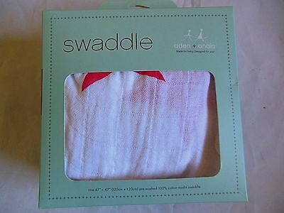 "NEW Aden and Anais 100% Muslin Cotton SWADDLE Baby Blanket-47 x47"" Fast Shipping"