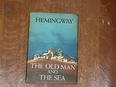 THE OLD MAN AND THE SEA ERNEST HEMINGWAY 1952 Hardcover w/ jacket