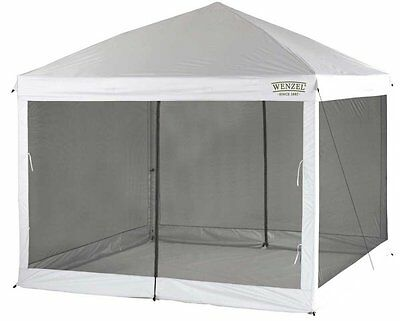 Wenzel 10x10 Canopy Screen Walls For Pop Up Tent Mesh Netting