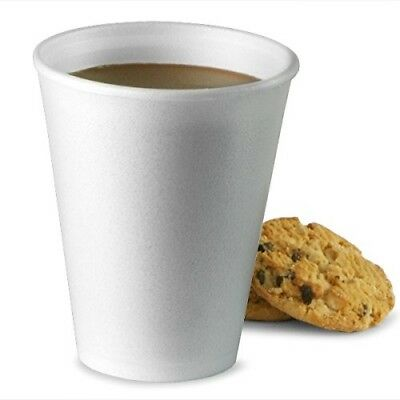 Disposable Polystyrene Cups 10oz / 300ml - Sleeve of 20 | Disposable Coffee Cups