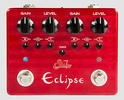 Suhr Eclipse Dual Channel Overdrive/Distortion (AUTHORIZED Dealer) 2017