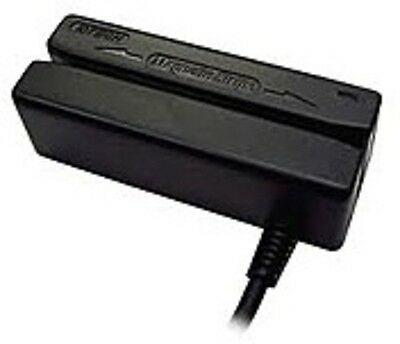 ID Tech MiniMag II IDMB-333133B Keyboard Wedge Card Reader - tracks 1, 2, and 3