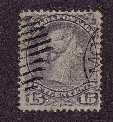 Canada #30i 15c  Large Queen issue 1875