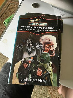 Doctor Who and the Monster of Peladon by Terrance Dicks (Paperback, 1980)