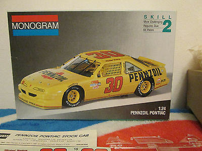 Pennzoil Michael Waltrip #30 Pontiac Grand Prix NASCAR winston Cup model kit