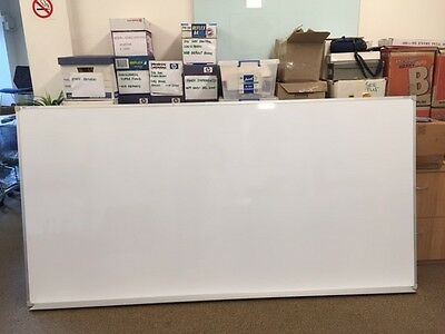 1200 x 2400 Large Whiteboard Penrite by Quartet Magnetic