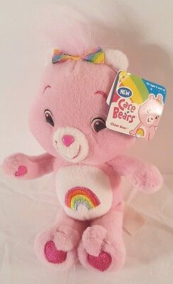 Cheer Bear Care Bear Plush with tags 8 inches
