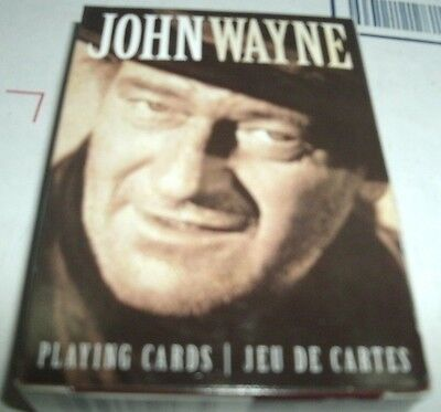 John Wayne Playing Cards Deck Misc