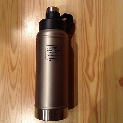 stanley stainless steel thermos, carhartt