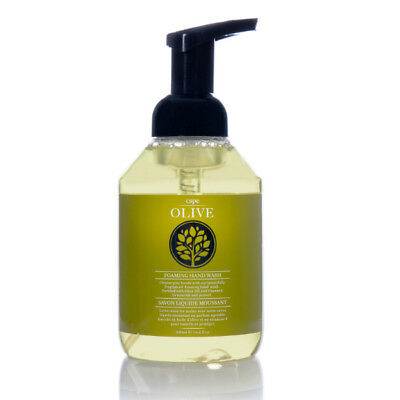Cape Olive Foaming Hand Wash + Olive Oil - African Skin Care (replaces Greens...
