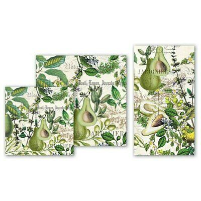 Avocado Napkins by Michel Design Works - Cocktail or Luncheon