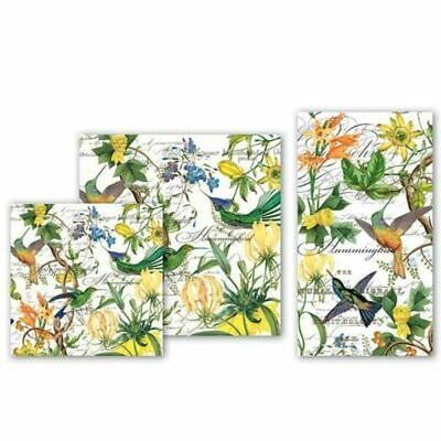 Hummingbird Paper Napkins by Michel Design Works. Pack of 20