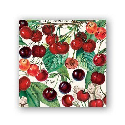 Black Cherry Napkins by Michel Design Works - Cocktail, Luncheon or Hostess