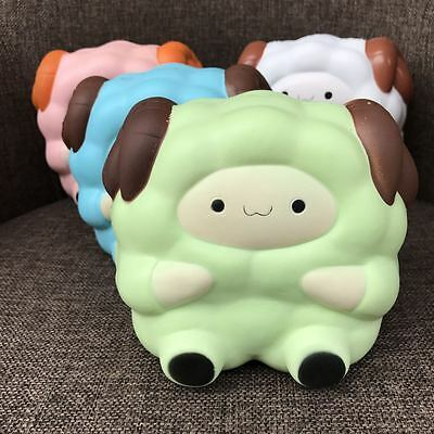 Jumbo Big Sheep Squishy Charm Slow Rising Phone Charm Stress Relief Toy Gift Hot