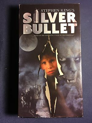Silver Bullet VHS Movie Tape Video Horror Stephen King 2001 Release  !!!