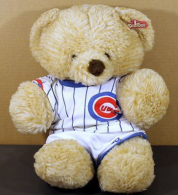 "Dan Dee Chicago Cubs Stuffed Bear ""Special Touch"" Very Good Condition with Tags"