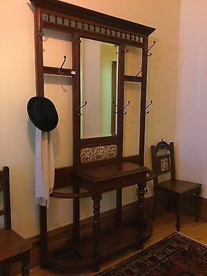 Late Victorian, Early Edwardian Hallstand