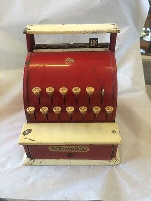 Boomaroo Old Vintage Metal Toy  Cash Register