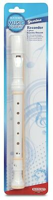 Bontempi 31 3620 Baroque Recorder in Blister Pack. Shipping Included