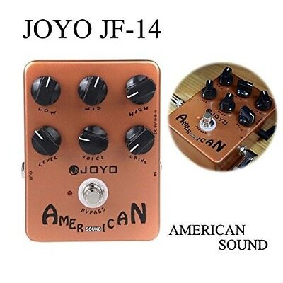JOYO JF-14 American Sound Amp Sumilator Guitar Effect Pedal. Free Delivery