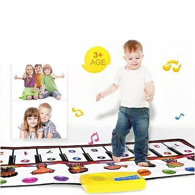 Oyedens New Touch Piano Mat Happy Musical Dance Electronic Playmat Great Gift. F