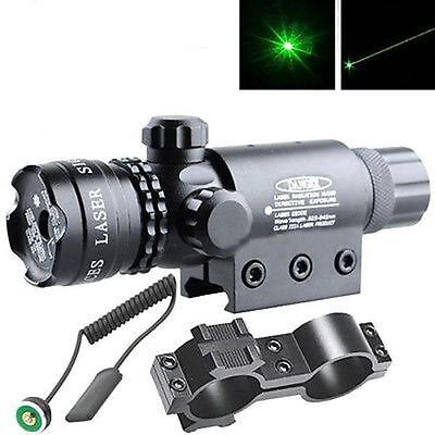 Green laser sight outside adjust For rifle gun scope remote switch 2 mounts Y21