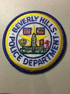 Beverly Hills California Police Department Patch Ca