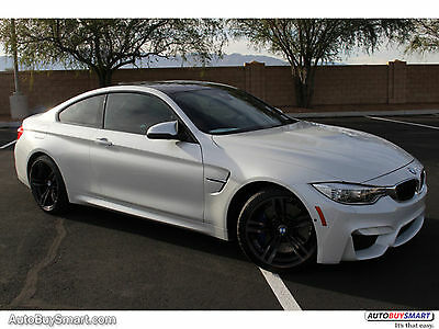 2016 BMW M4 Coupe 2016 White Coupe!