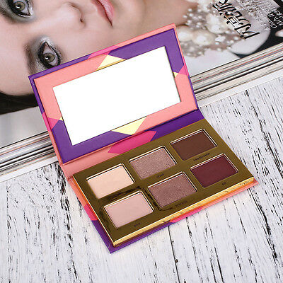 Earth Color Eyeshadow Shimmer Palette Eye Shadow Eyes Makeup Cosmetic Portable