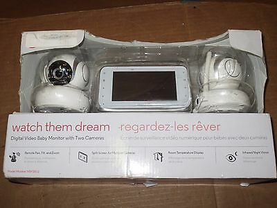 Motorola MBP38S-2 Digital Video Baby Monitor with 4.3-Inch Color LCD Screen