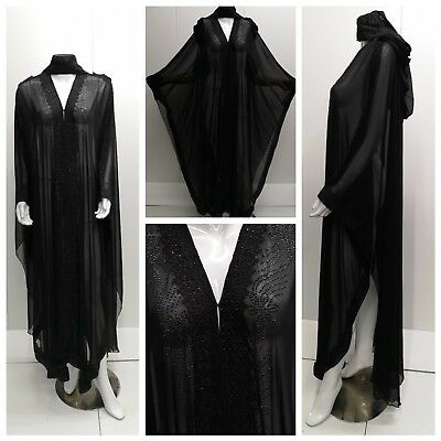 Women closed front abaya.dress .saudi abaya japanese Neda/linen.New Arrival 2017