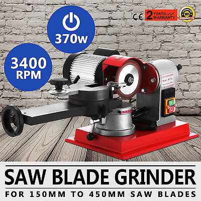 370W Chainsaw Sharpener 370W Alloy Chain Saw Blade Bench Electric Grinder Tool