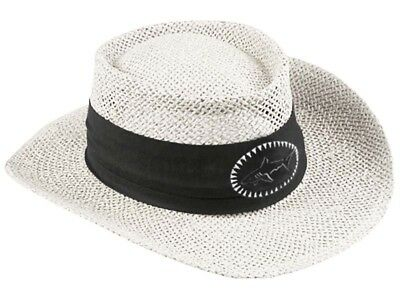 Greg Norman Straw Hat - White