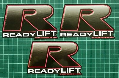 READY LIFT SUSPENSION racing decals stickers offroad diesel nhrda crawl off road