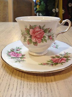 Vintage Queen Anne China Tea Cup & Bread & Butter Plate