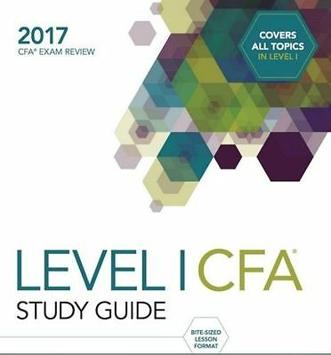 2017 Wiley Study Guide for 2017 Level 1 cfa
