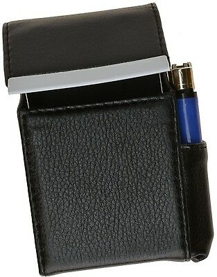 BLACK CIGARETTE Hard Case  pouch Leather Holder Wallet Purse-New