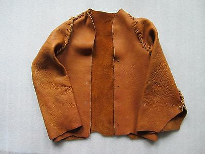 Original Antique / Vintage Native American Sioux Deerskin Kids Jacket