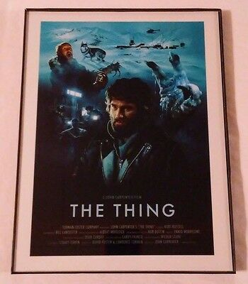 Framed Movie Poster Print : A John Carpenter Film THE THING !   New