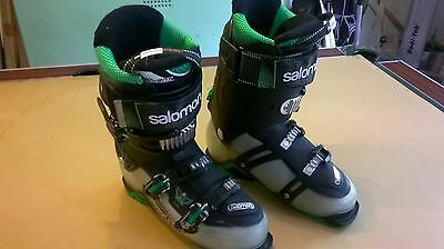Salomon Quest 110 Ski Boots size 27.0 in good condition uk size 8