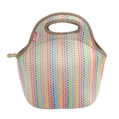 (Candy Dot) - Built NY Gourmet Getaway Candy Dot Neoprene Lunch Tote Bag,