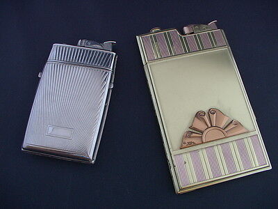 Evans Lighter And Cigarette Holder Pair Of Crisp Minty Pieces