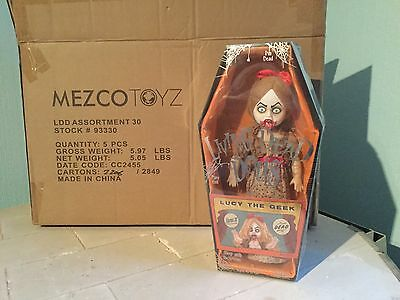 Mezco Living Dead Doll Series 30  Lucy The Geek   New In Box Sealed