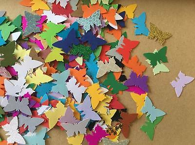 x100 BUTTERFLIES BUTTERFLY PAPER PUNCH/ PUNCHIES - Craft/scrapbooking