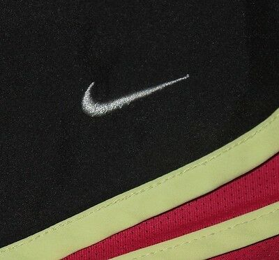 Womens EUC Black/Vivid Pink NIKE Running Technical DRI FIT Running Shorts size S